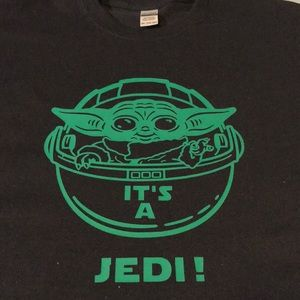 "Baby Yoda Shirt from ""The Mandalorian"""